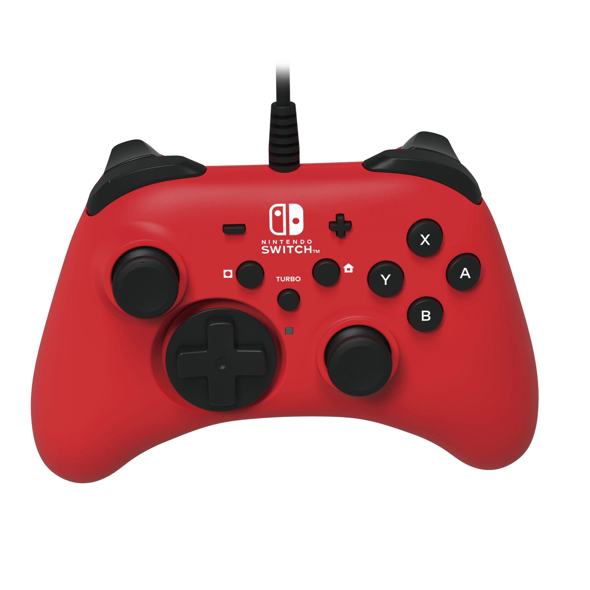 Hori Pad Switch Wired Controller - Red