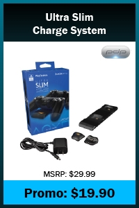 PS4 - Charger - Ultra Slim Charge System (PDP)