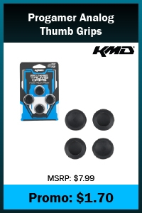 PS4 - ProGamer Analog Thumb Grips - Compatible with PS3 - 4 pack (KMD)