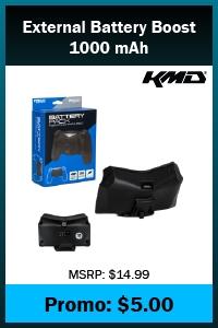 PS4 - Battery - External Battery Boost - 1000mAh (KMD)
