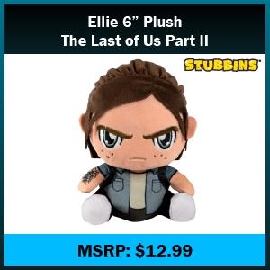"Toy - Stubbins - Plush - 6"" - Ellie - Last of Us (Sony)"
