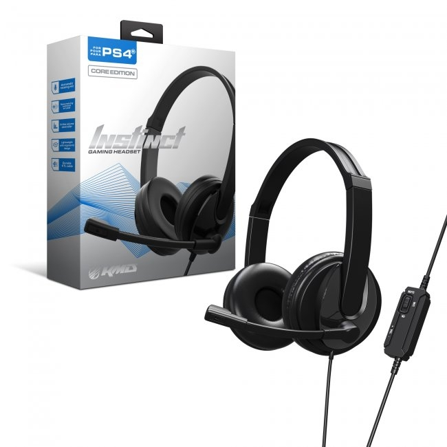 KMD Instinct Gaming Headset - Core Edition for PS4