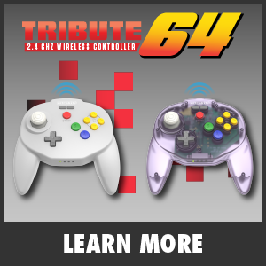 Tribute64 2.4 GHz Wireless Controller