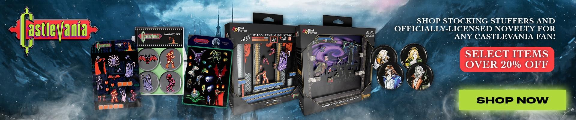 Castlevania Licensed Toys & Novelty