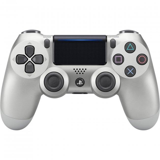 PS Dualshock 4 Wireless Controller Refurbished - Silver