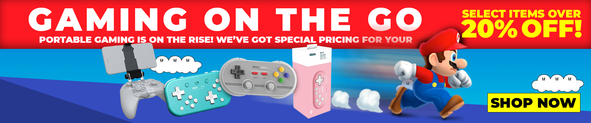Gaming on the Go Sale