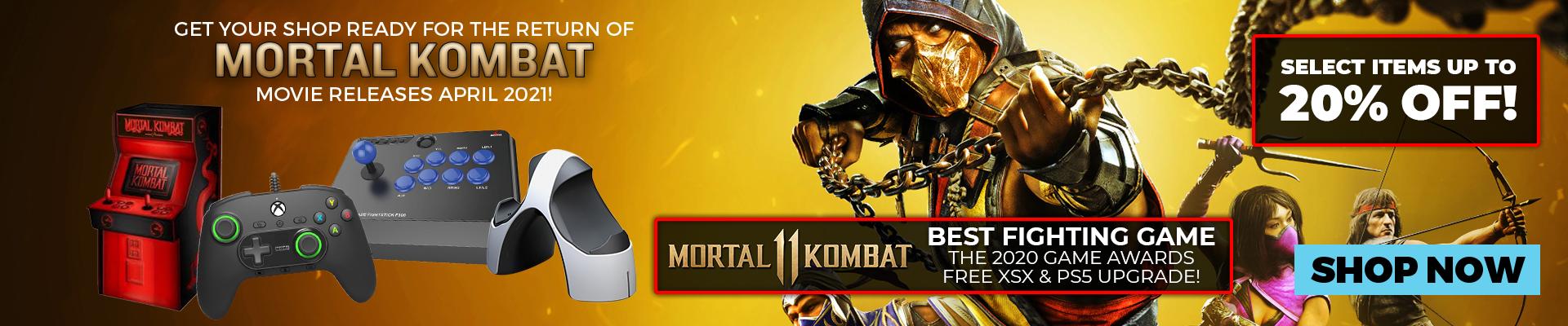 Mortal Kombat Sales Promo