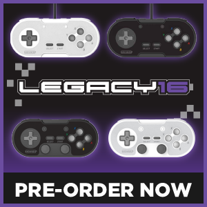 Retro-Bit Legacy16 Wired and Wireless Controllers