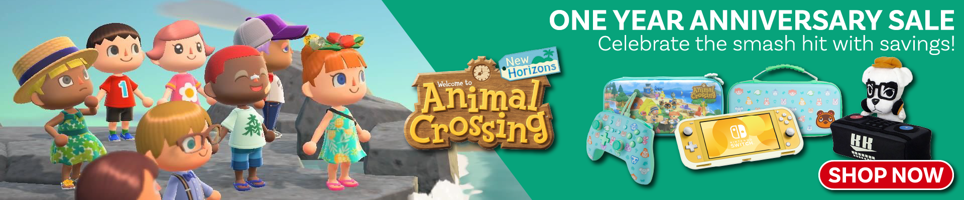 Animal Crossing New Horizons - Anniversary Sale