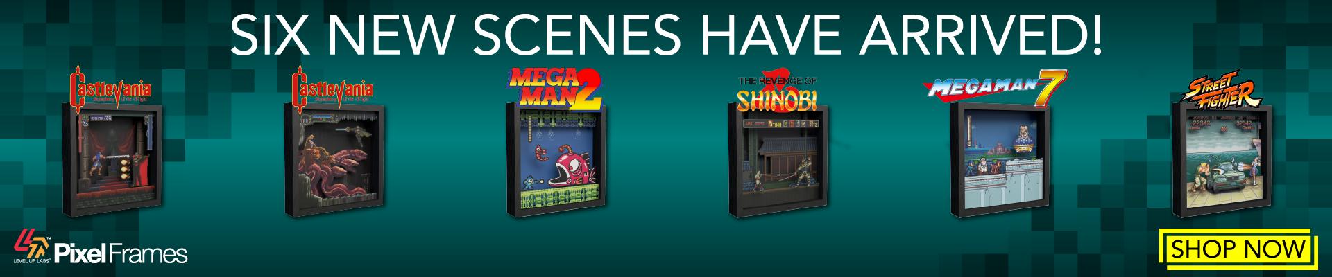 Pixel Frames - Six NEW scenes have arrived!