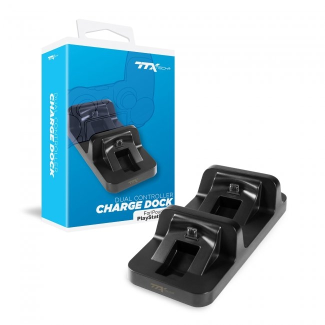 TTX Dual Controller Charge Dock for PS4