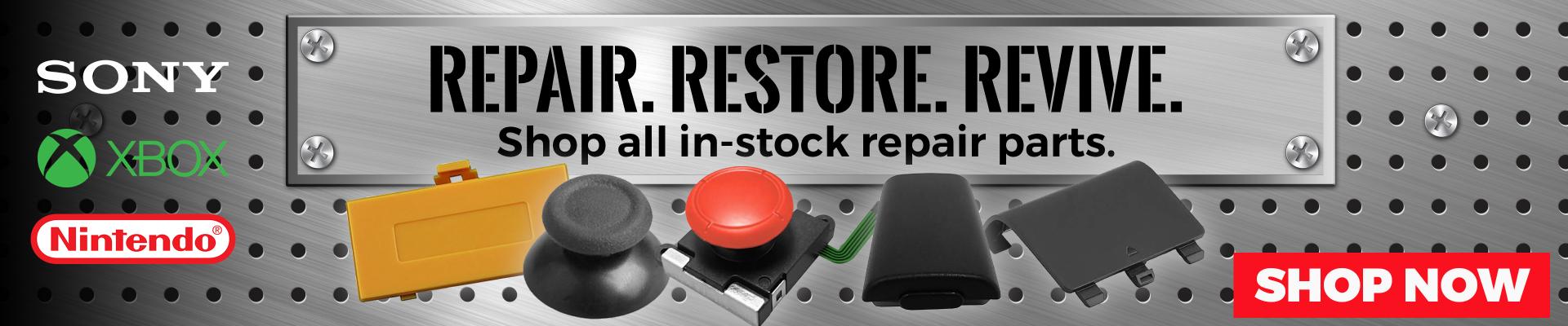 Repair.  Restore.  Revive.