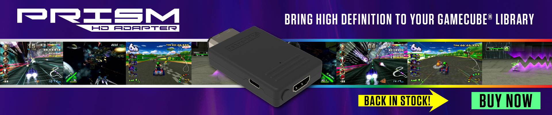 Prism HD Adapter for GCN - Back in Stock!