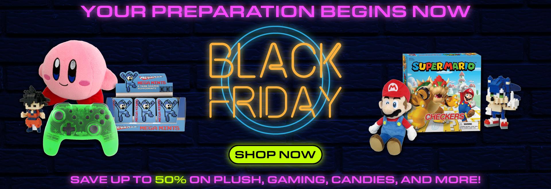Prepare for Black Friday