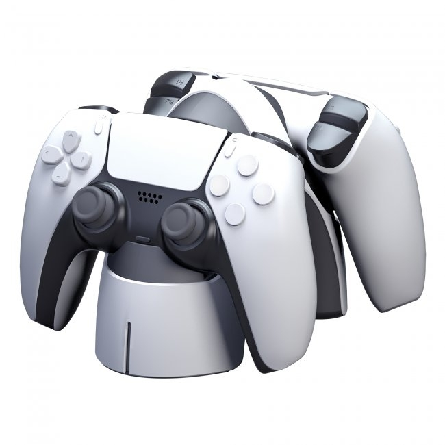 KMD Dual Charge Dock for PS5 DualSense Controllers