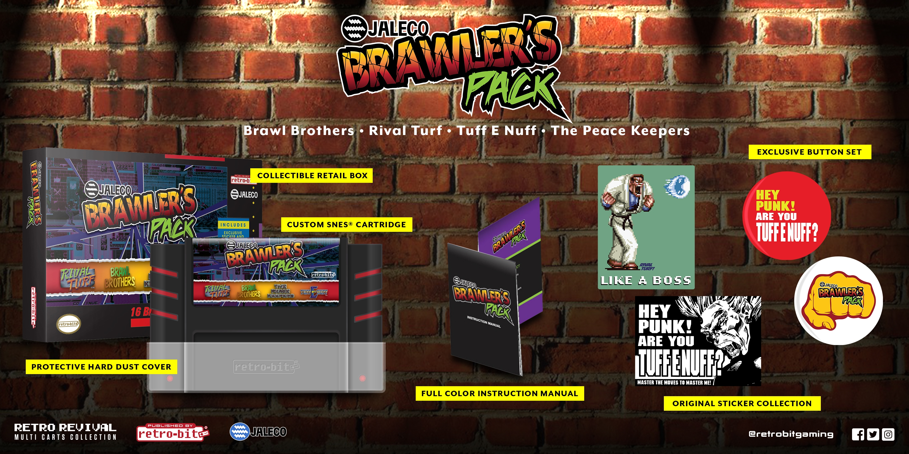 Jaleco Brawlers Pack