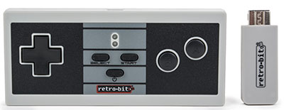 Retro8 Wireless Pro Controller for NES Classic