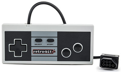 Retro8 Wired Pro Controller for NES