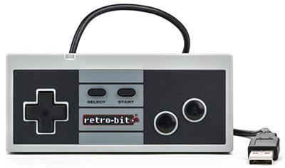 Retro8 Wired Pro Controller for PC and Mac