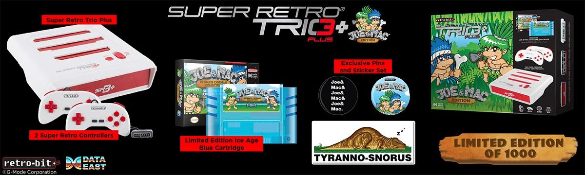 Retro-Bit SR3 Plus: Joe & Mac Limited Edition Bundle