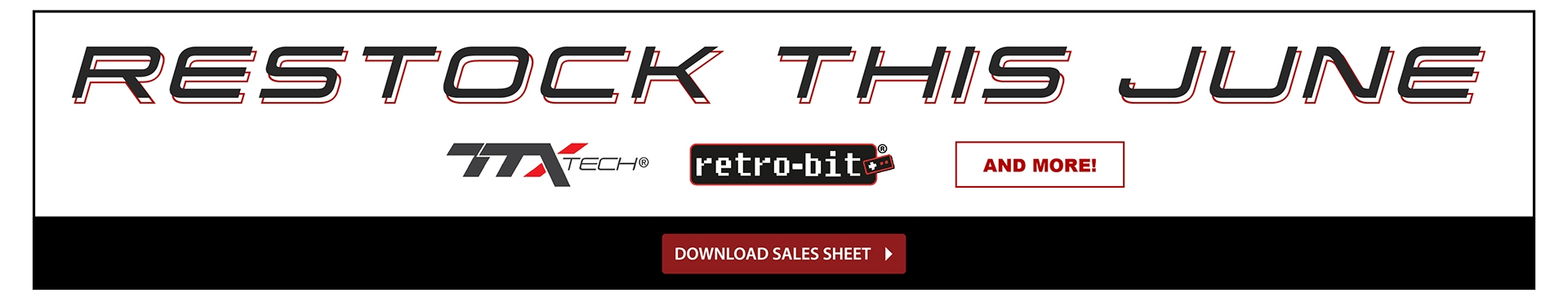 TTX Restock