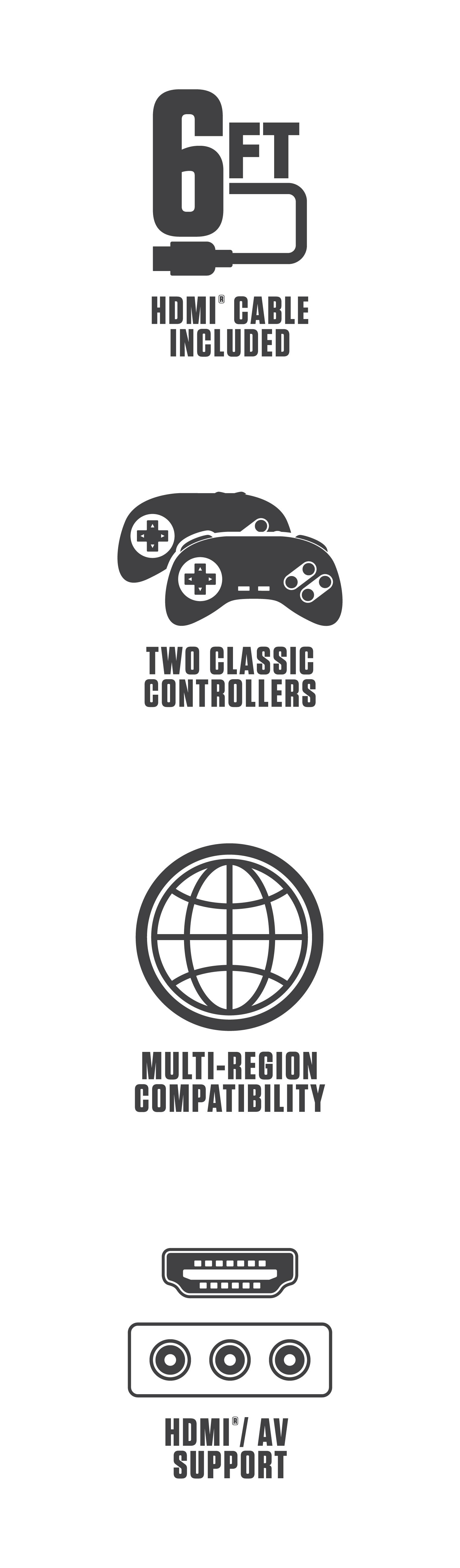 Retro-Bit Super Retro Trio Plus Features